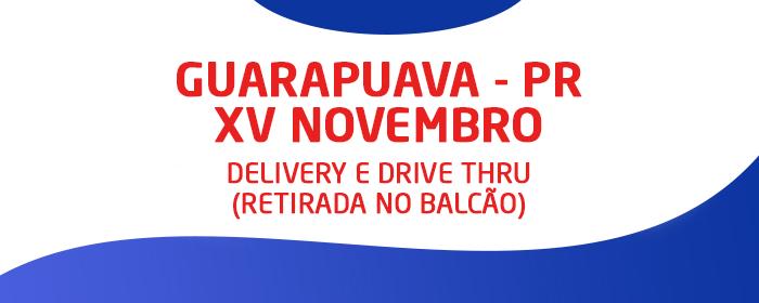 Delivery Guarapuava – XV de Novembro